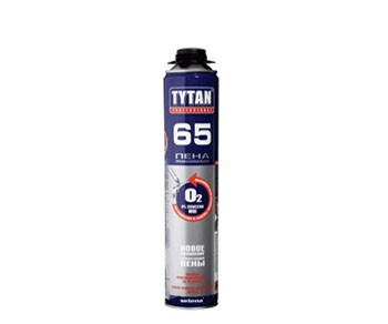 Пена монтажная профессиональная Tytan Professional 65 O2, 750 мл.
