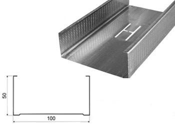 Профиль Эконом 100x50х3м 0,40, стоечный