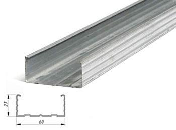Профиль Эконом 60х27х4м 0,40мм потолочный