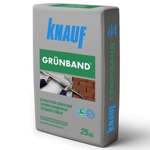Штукатурка цементная Кнауф Грюнбанд теплоизоляционная (Grunband)