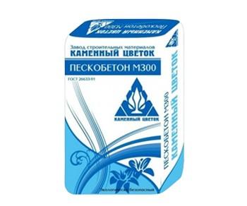 Пескобетон м300 Каменный цветок 40кг
