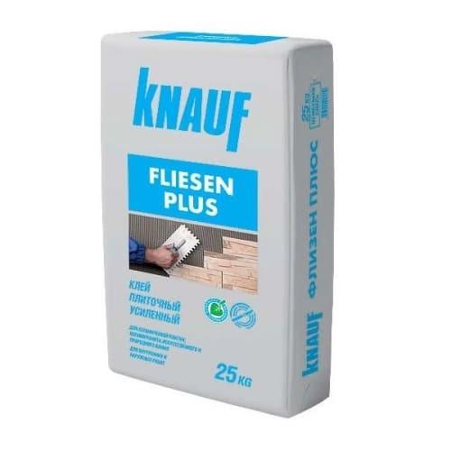 Клей плиточный Кнауф Флизен Плюс усиленный 25кг