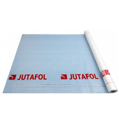 Пленка гидроизоляционная Juta Ютафол Д 96 Silver 75м2
