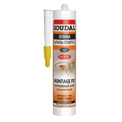 Клей монтажный Soudal Montage Fix 300 мг