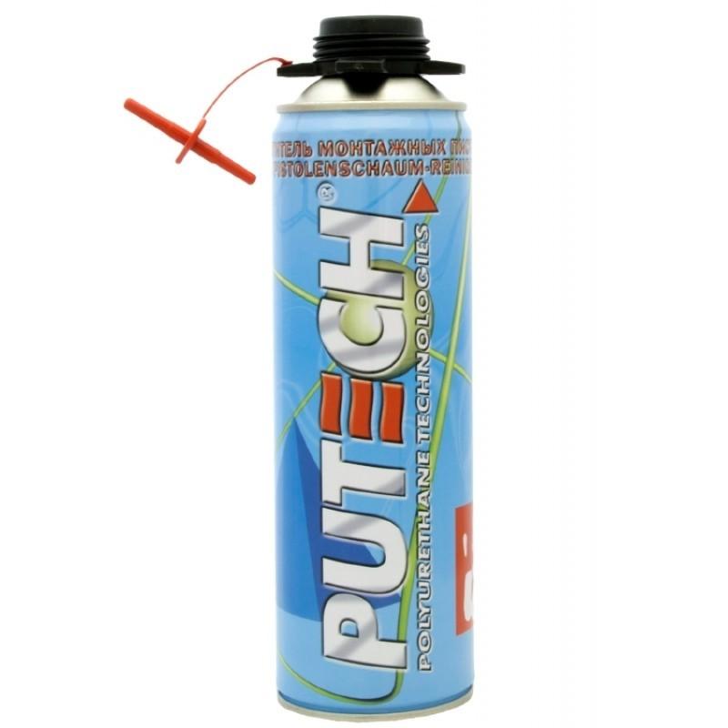 Очиститель монтажной пены PUTECH 500 мл.