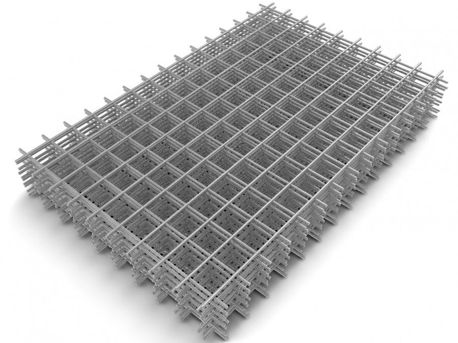 Сетка сварная яч 100х100 (4.5мм) карта 1,5х2м