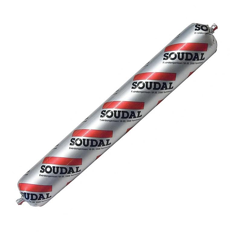 Герметик полиуретановый Sоudal Soudaflex 40 FC серый 600 мл