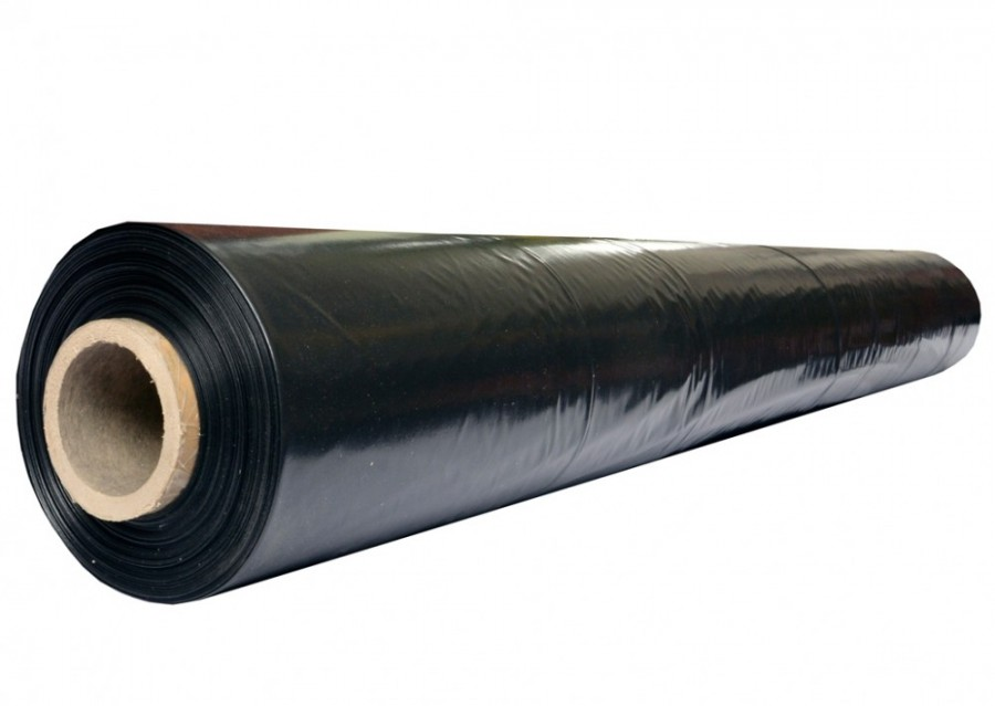 Пленка полиэтиленовая черная 100 мкм. 1 сорт. (100м/р)