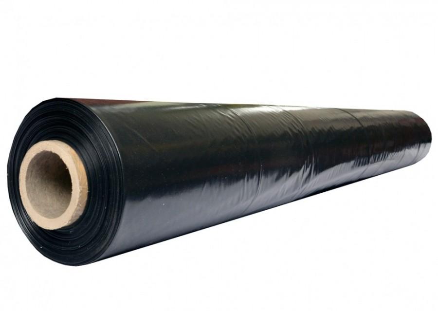 Пленка полиэтиленовая черная 150 мкм. 1 сорт. (100м/р)